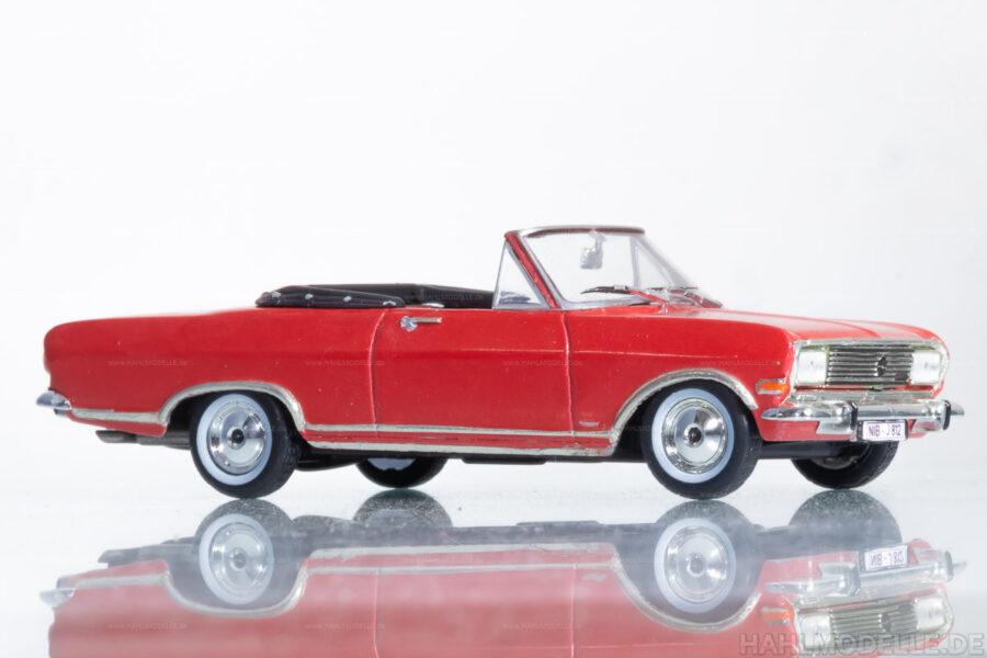 Modellauto | hahlmodelle.de | Opel Rekord B Cariolet Deutsch
