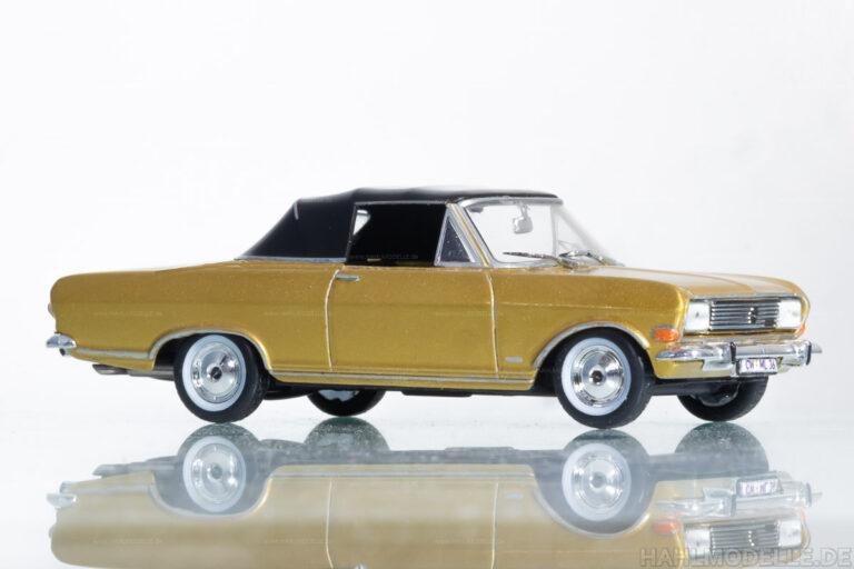 Opel Rekord B, Cabriolet, geschlossen (Deutsch)