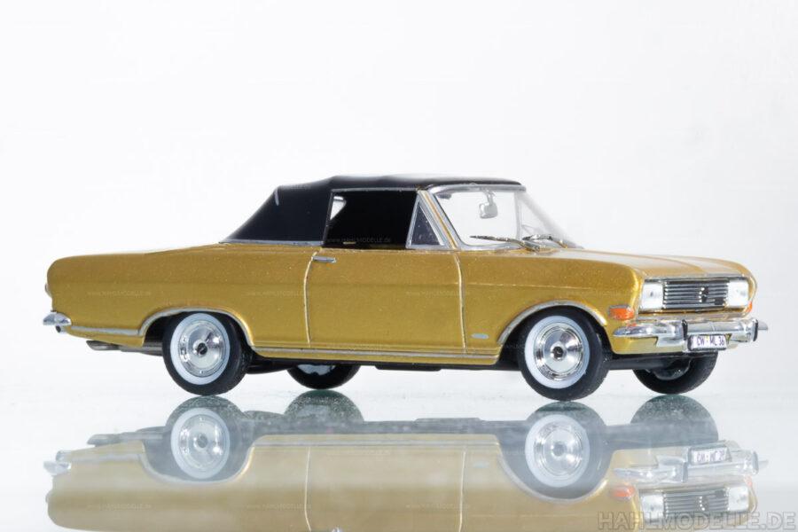 Modellauto   hahlmodelle.de   Opel Rekord B Cariolet Deutsch