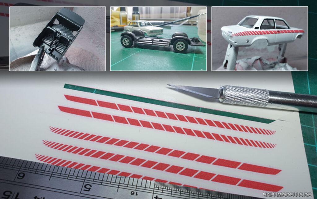 hahlmodelle.de | Opel Ascona A Swinger: Weitere Arbeiten