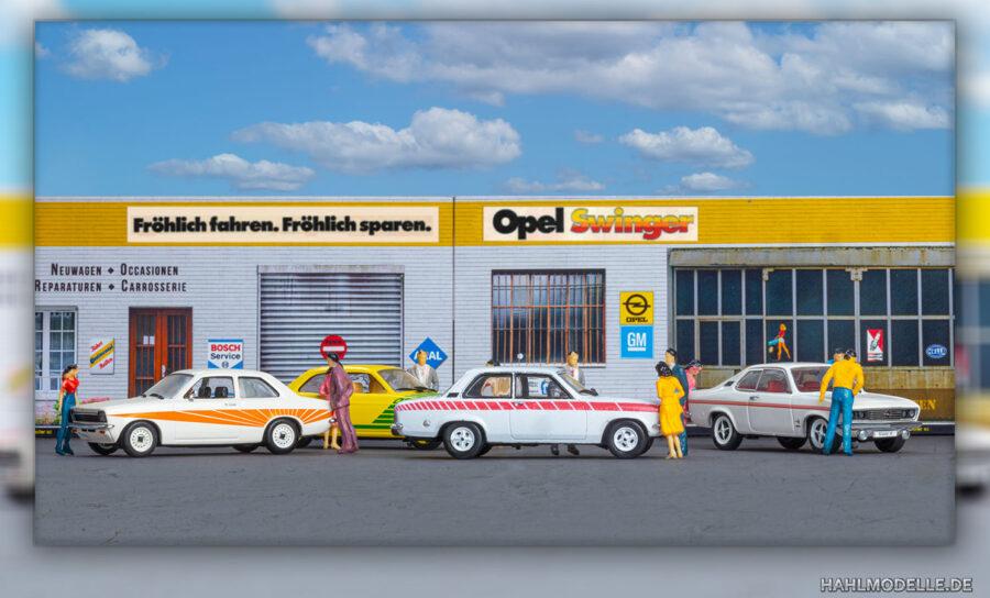 Modellauto | hahlmodelle.de | Opel Ascona A Swinger (und Kadett C Swinger, Manta A Swinger)