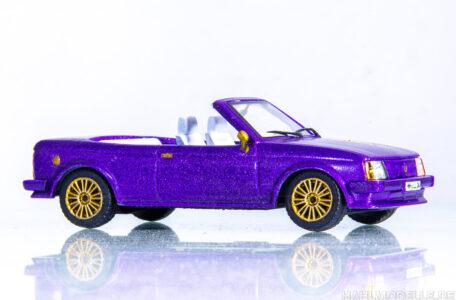 Modellauto | hahlmodelle.de | Opel Kadett D Cabriolet (Baumgärtner)