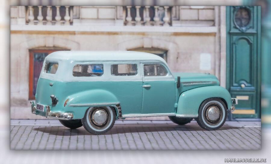 hahlmodelle.de | Opel Olympia 1951 Kombi (Miesen)