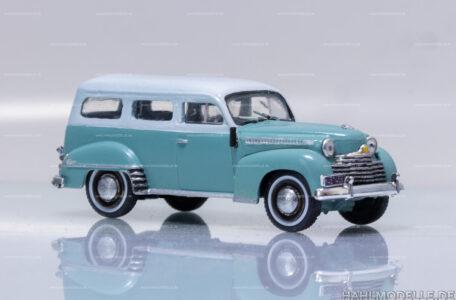 Modellauto | hahlmodelle.de | Opel Olympia 1951 Kombi (Miesen)