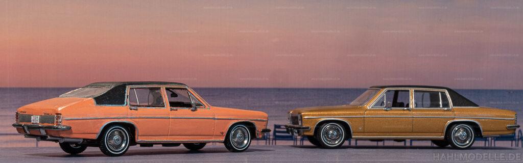Modellauto | hahlmodelle.de | Umbau: Opel Diplomat B Limousine zu Opel Diplomat B Fastback (Vogt)