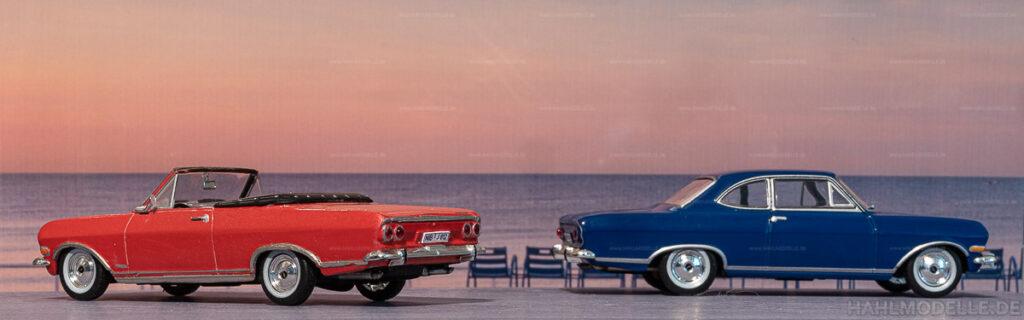 Modellauto | hahlmodelle.de | Umbau: Opel Rekord B zu Opel Rekord B Cabrio (Deutsch)