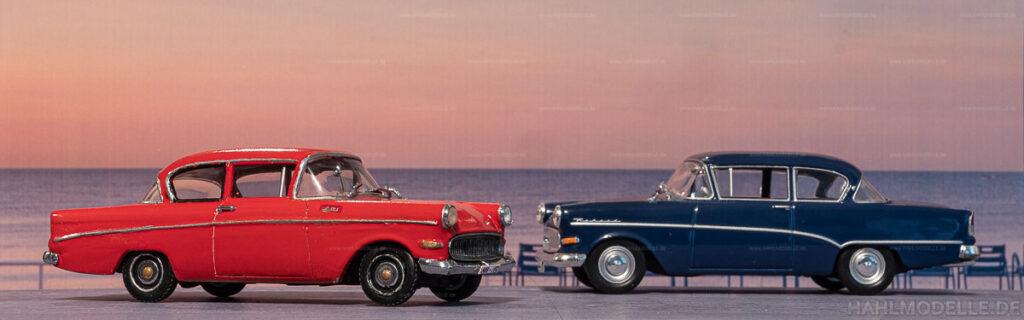 Modellauto   hahlmodelle.de   Umbau: Opel Olympia Rekord P1 zu Opel 1200