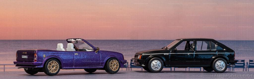Modellauto   hahlmodelle.de   Umbau: Opel Kadett D zu Opel Kadett D Cabrio (Baumgärtner)