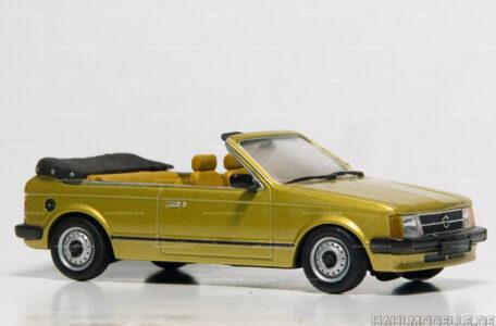 Modellauto | hahlmodelle.de | Opel Kadett D Cabriolet Bieber
