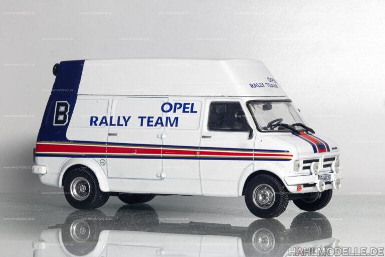 Opel Bedford Blitz, Opel Rothmans Rallye Team Servicefahrzeug